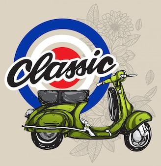 Motocicleta clássico