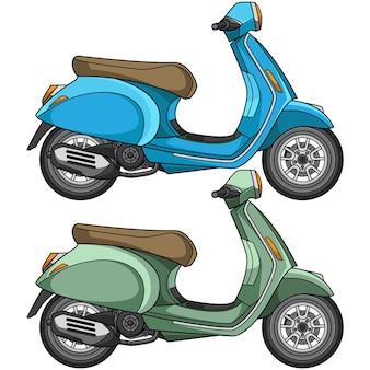 Motocicleta scooter