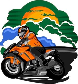 Motocicleta touring