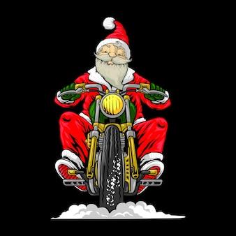 Motociclistas de santa
