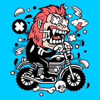Motocross do gorila