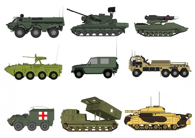 Motor de vetor para soldados isolados