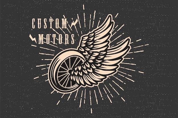 Motor personalizado vintage