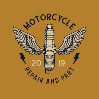 Motors vintage badge