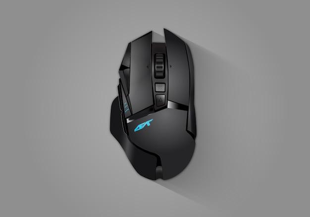 Mouse de jogo realista