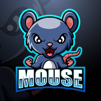 Mouse mascote esport
