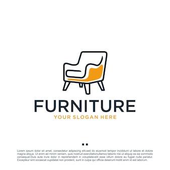Móveis, inspiração para o design de logotipo