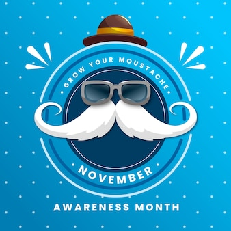 Movember fundo design plano