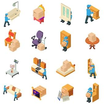 Mover o conjunto de ícones