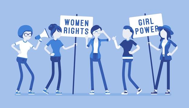 Movimento social feminista