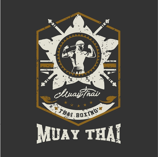 Mua thai background