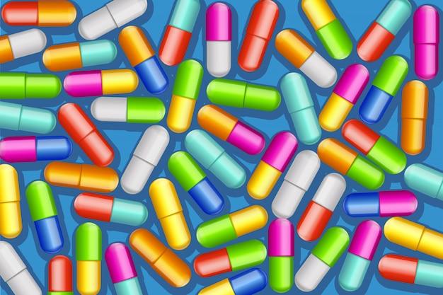 Muitas pílulas