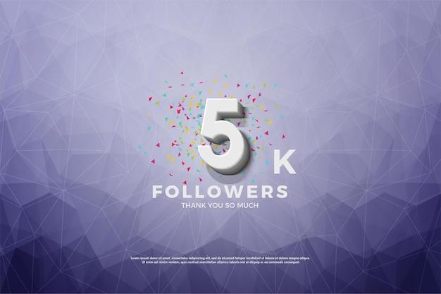 Muito obrigado 5k seguidores.
