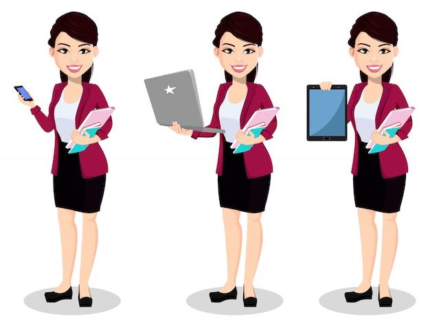 Mulher de negócios asiáticos em roupa de escritório