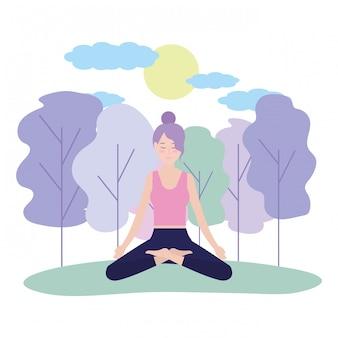 Mulher e yoga