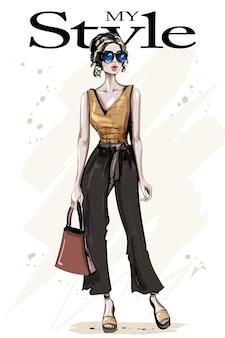 Mulher estilosa