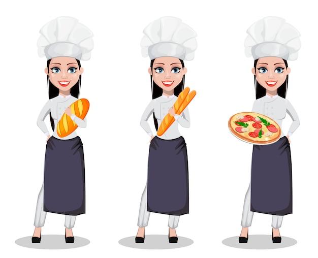 Mulher linda baker