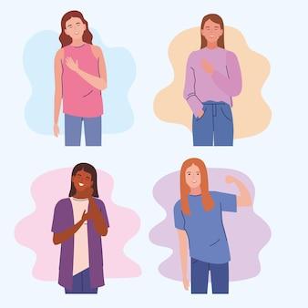 Mulheres com câncer de mama