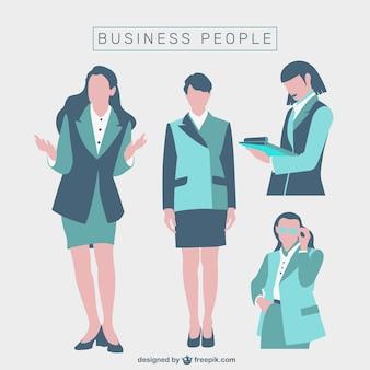 Mulheres de negócios set