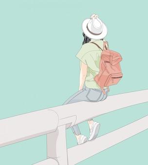 Mulheres viajam pelo mundo