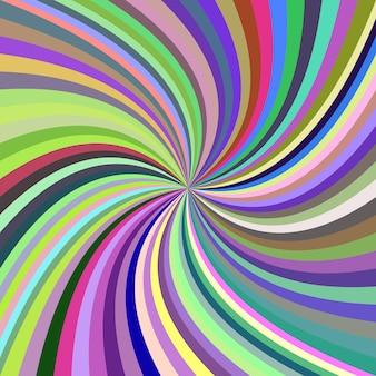 Multicolor fundo espiral