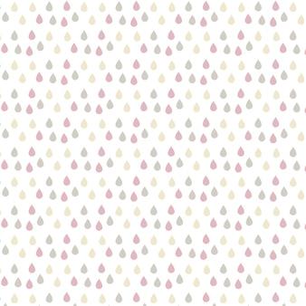 Multicolor gotas fundo padrão