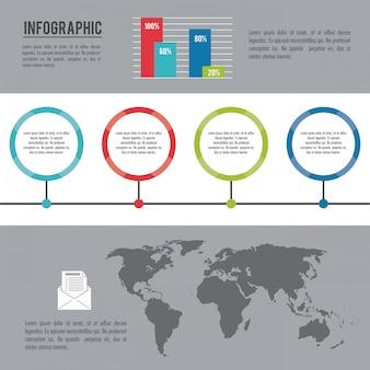 Mundo inteiro infográfico