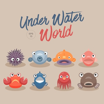 Mundo sob a água