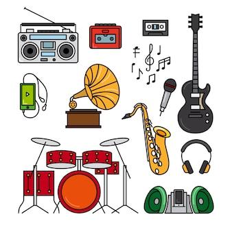 Música e instrumentos musicais