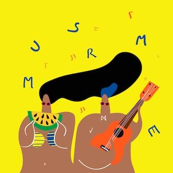 Música no verão