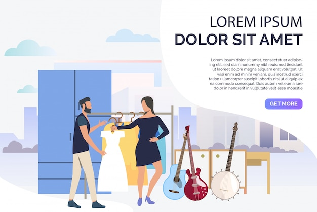 Músicos escolhendo roupas para concerto