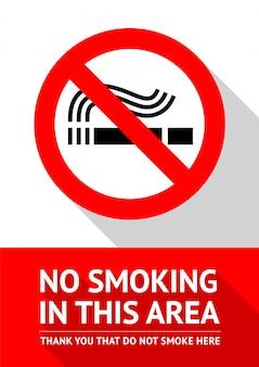 Não fumar nesta área