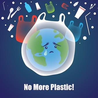 Não mais plástico