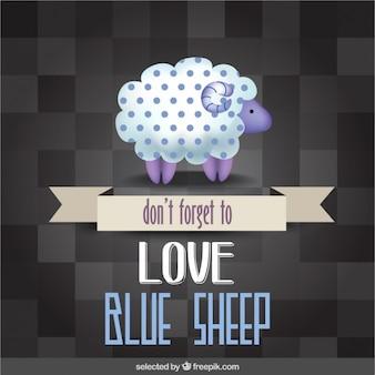 Não se esqueça de amar carneiros azuis