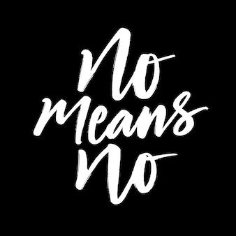 Não significa que não há letras