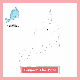 Narwhal connect the dots
