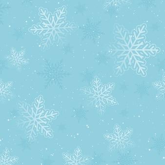 Natal decorativo com design de floco de neve