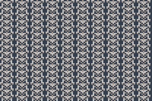 Natal e férias de inverno tricô padrão para xadrez, design de suéter.