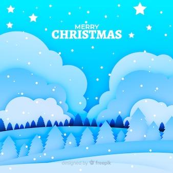 Natal em estilo de jornal
