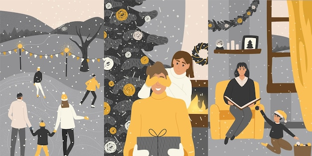 Natal em família.