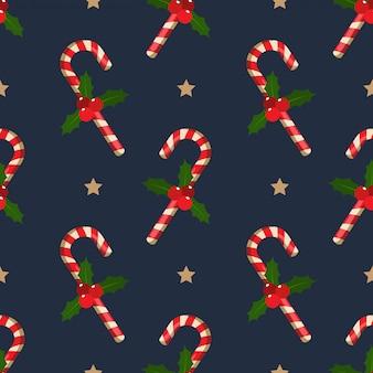 Natal feriado temporada sem costura padrão