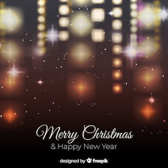 Natal turva pendurado luzes de fundo