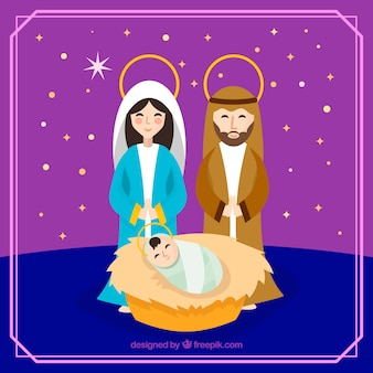 Nativity scene background