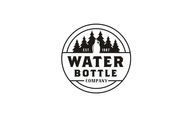 Naturae mineral drink logo design