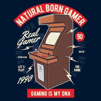 Natural nascido gamer