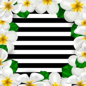 Natureza botânica quadro floral