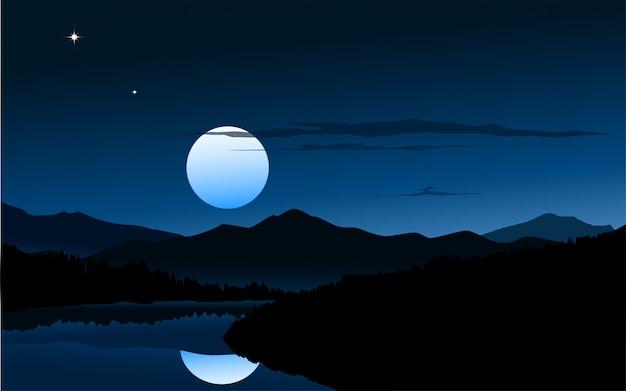 Natureza em meia noite