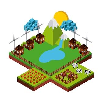 Natureza no design de pixels