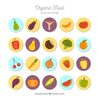Natureza publicações de alimentos orgânicos