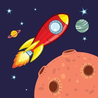 Nave espacial voadora